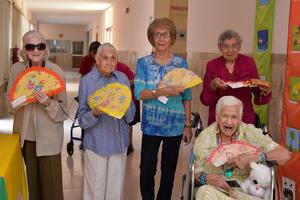 28082017 Martha, Gloria, Irma, Trini y María Luisa.