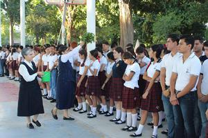 27082017 Bendición del Ciclo Escolar de la Academia de Villa de Matel