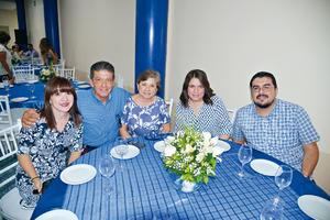 27082017 CONTENTOS.  Ángeles, Héctor, Silvia, Silvia y Jorge.