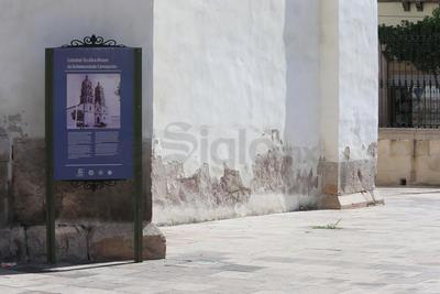 Con el paso de los años, crecen los daños en diferentes elementos de la Catedral Basílica Menor de Durango.