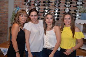 30082017 Mariana, Rosarín, Rocío y Claudia.