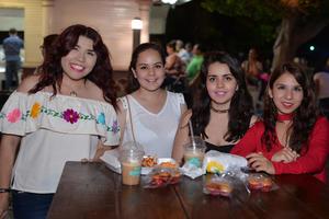 30082017 Eréndira, Alejandra, Gabriela y Jessica.