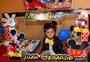 30082017 CUMPLE 3 AñOS.  Juan Gerardo García.