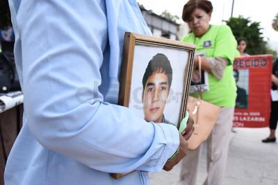 Recordaron que Ley General de Desaparecidos sigue estancada por parte de las autoridades federales.