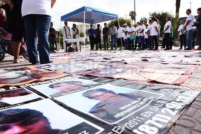 Grupo Vida realizó una marcha  en el Día Internacional de las Víctimas de Desaparición Forzada.