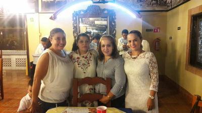 31082017 Claudia, Magaly, Ale y Miriam.