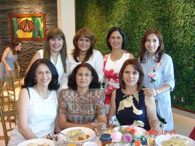 31082017 Sharo, Paty, Gladys, Celina, Gaby, Blanca y Mayela.