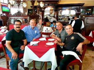 02092017 EN CDMX.  Antonio Ramírez, Bernardo Valdés, La Perica Valdés y Alejandro Ponce.