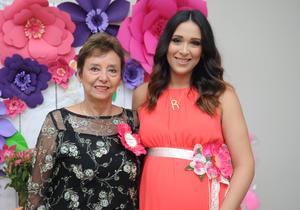 02092017 BABY SHOWER.  Valeria Artea con su mamá, Rosy G.