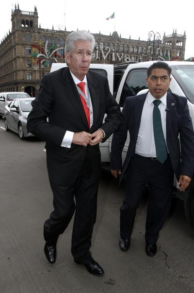 El secretarío de Comunicaciones y Transportes, Gerardo Ruiz Esparza.