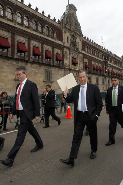 El titular de la Secretaría de Hacienda y Crédito Público, José Antonio Meade.