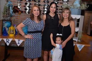03092017 PRENATAL.  Sofía será mamá por segunda vez, por lo que fue festejada por sus amigas y familiares. La acompañan Martha, Mariana y Ángela.