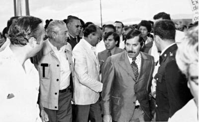 03092017 Mario Cepeda Ramírez y el C. Presidente Luis Echeverría en Torreón.
