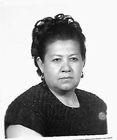 03092017 Fotografía del 31 de marzo de 1977 de la Sra. Guadalupe Cortez Muñoz, nacida el 10 de agosto de 1931 en Mazatlán, Sinaloa.
