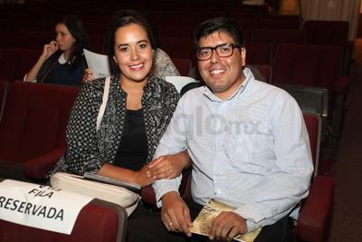Daniela Díaz y Alonso Gaucín.
