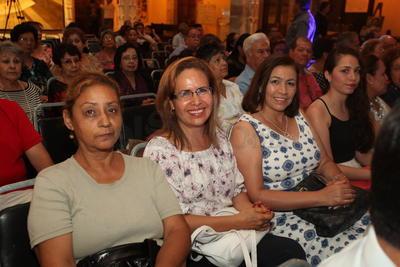 Mayela Solís, Isa Ramos e Isela Sánchez.