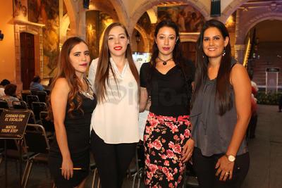 Iris, Loredana, Guadalupe y Laura.