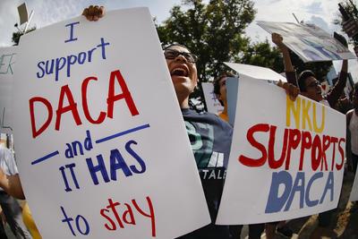 """En su mensaje, Sessions, consideró que es """"compasivo"""" acabar con el plan conocido como DACA."""