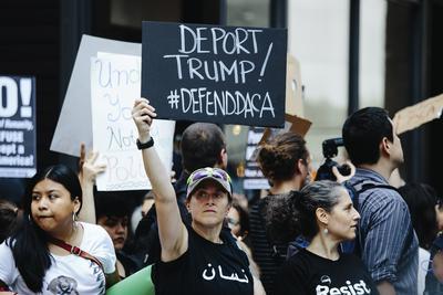 Trump ha recibido una gran presión para acabar con DACA por parte de fiscales generales de nueve estados conservadores.