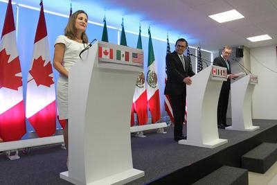 México, Estados Unidos y Canadá sostuvieron reuniones bilaterales y trilaterales para reformar este acuerdo.