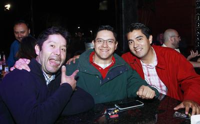 Christian, Javier y Carlos.