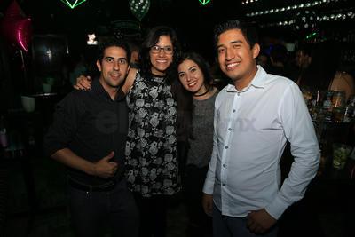 Daniel, Pao, Braulio e Ixcel.