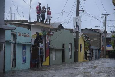 Las inundaciones son un ejemplo de los daños.