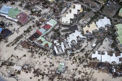 El huracán 'Irma' no cede.