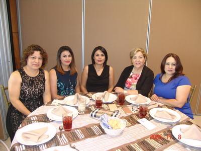 07092017 Toñita, Rosy, Glenda, Gloria y Juanis.