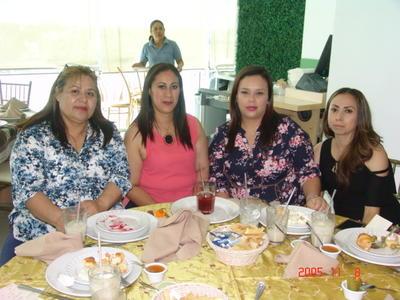 07092017 Lety, Dulce, Lidia y Rosita.