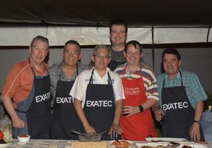 07092017 Pedro Martínez, José Manuel Pardo, Gabriel Chávez, Carlos Bejos, Luis Martínez y Napoleón Garza.
