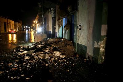 Los daños se extendieron hasta Oaxaca.