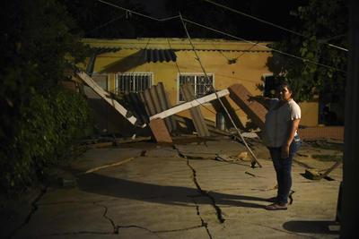 En Veracruz también hubo daños significativos.