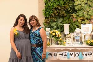 08092017 BABY SHOWER.  Rosa María, en breve será mamá, motivo por el que María Rosario Huitrón de Rivera le organizó una amena fiesta de canastilla.