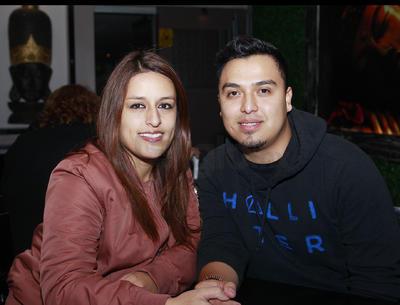 Mariela Valenzuela y Víctor Piedra.
