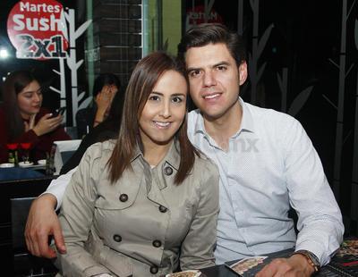 Erika Varela y Francisco Ibáñez.