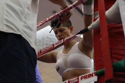 Rocío enfrentó su segundo combate profesional.
