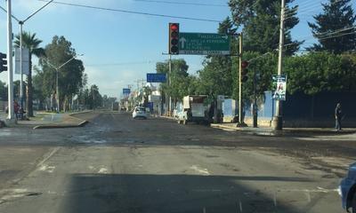 Boulevar Domingo Arrieta, esquina con vialidad Tornel.