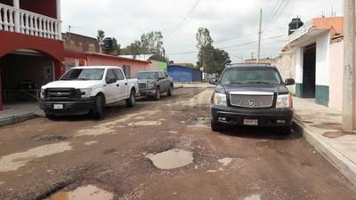 Calle Xóchitl, entre Uxmal y Tule, colonia Azcapotzalco.