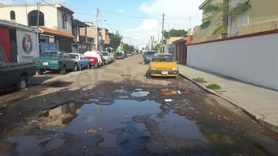 Calle Isauro Venzor, esquina con Reforma, colonia Porfirio Díaz.