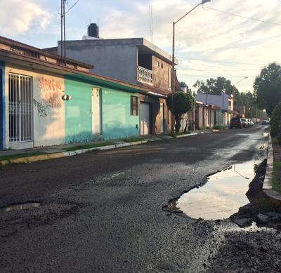 Ágata y Fuente de los Olivos del fraccionamiento Las Fuentes.