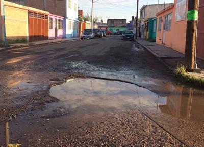 Calle Machu Pichu y Circuito Palenque, fraccionamiento Huizache I.