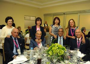 11092017 María Rosa y Ray, Laura y Celso, Chepis y Raúl, Marisa y Chuy.