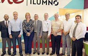 10092017 EN INAUGURACIóN.  José Guadalupe, Germán, Martha, Luis Manuel, Alberto, Carlos, Valeriano y Ángel.