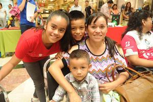 10092017 Alicia Paulina, Diego Alejandro, Ángel David y Blanca Alicia.