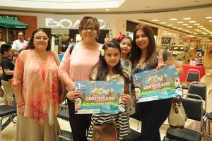 10092017 Alma Rosa, Ofe, Rosa Fernanda, Michelle y Thalía.
