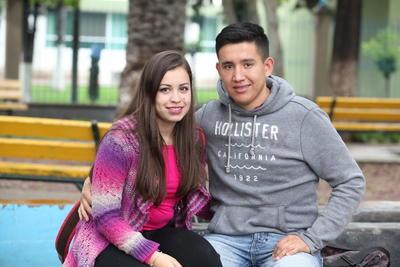Valeria y Felipe.