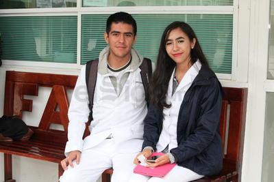 Miguel y Clarena.
