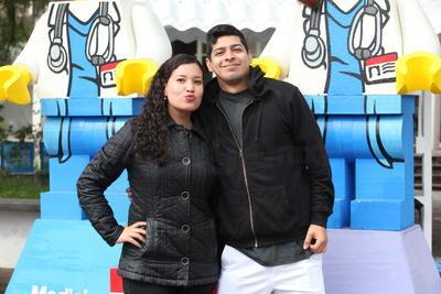 Jorge y Marielena.