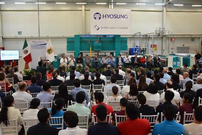 Global Safety Textiles (GST) filial de Hyosung inauguró de manera oficial su planta en Torreón.